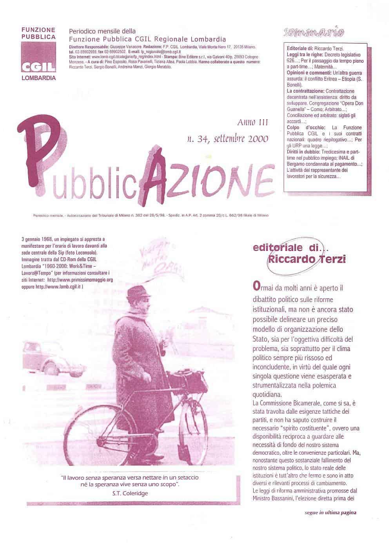 C32 - Editoriale PubblicAzione n. 34