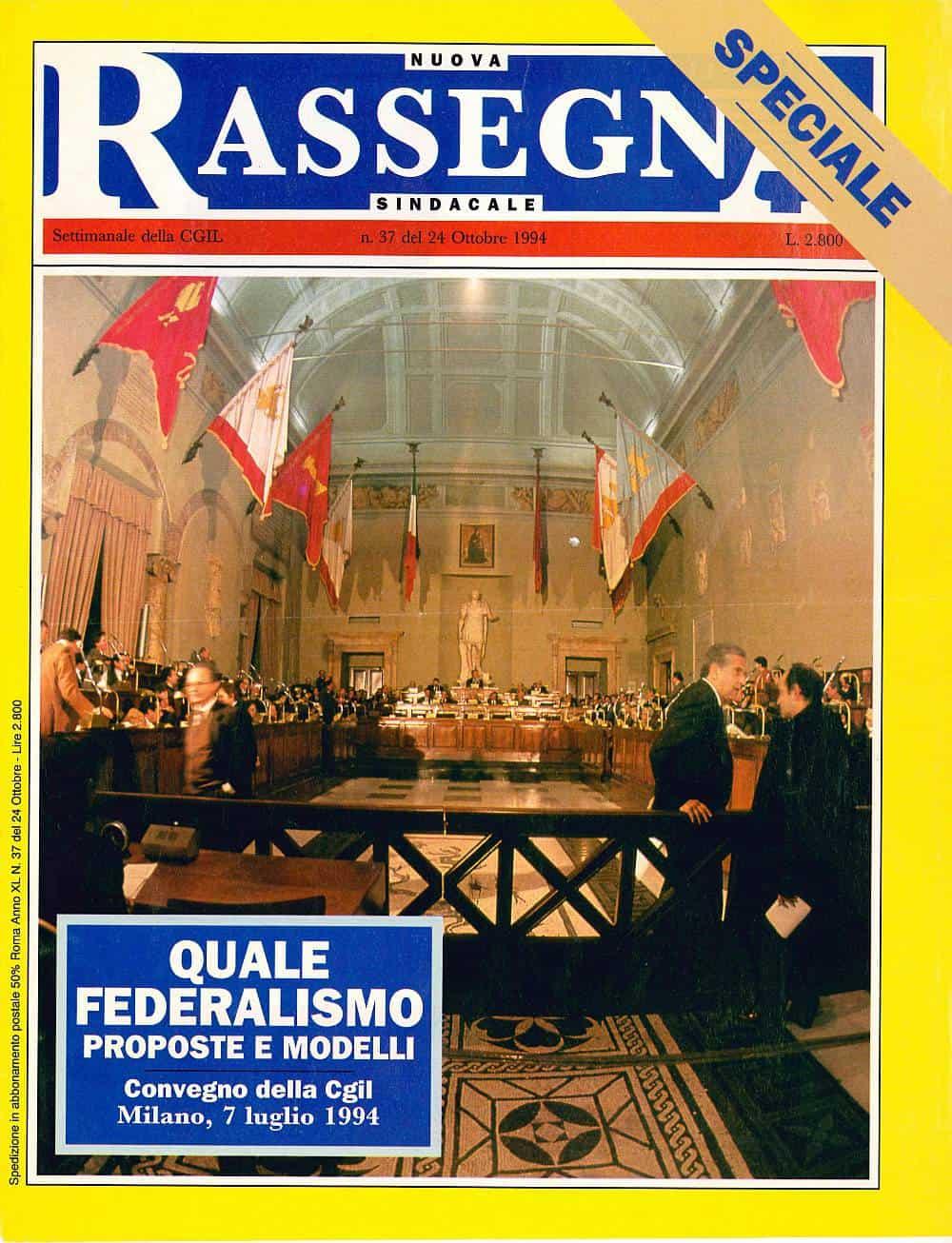C52 - Autonimia e diritti. Introduzione al convegno della Cgil Quale federalismo 7 luglio 1994
