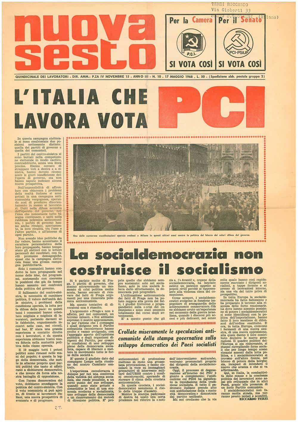 G104 - La socialdemocrazia non costruisce il socialismo