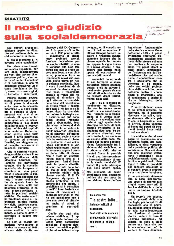 G99 - Il nostro giudizio sulla socialdemocrazia