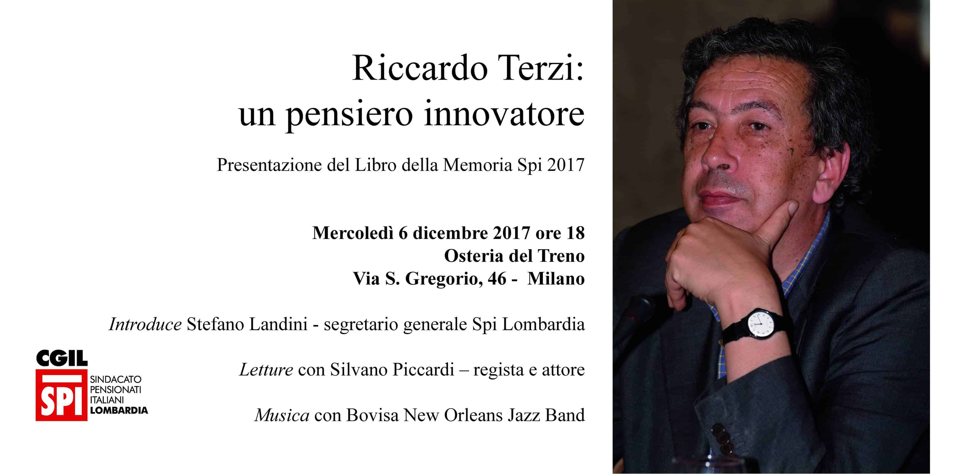 Riccardo Terzi, un pensiero innovatore