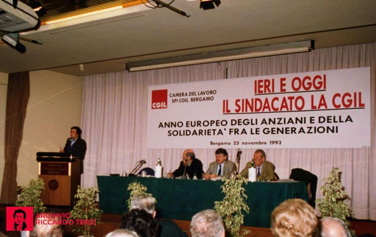 Ieri e oggi il sindacato la CGIL (Bergamo 25 novembre 1993)