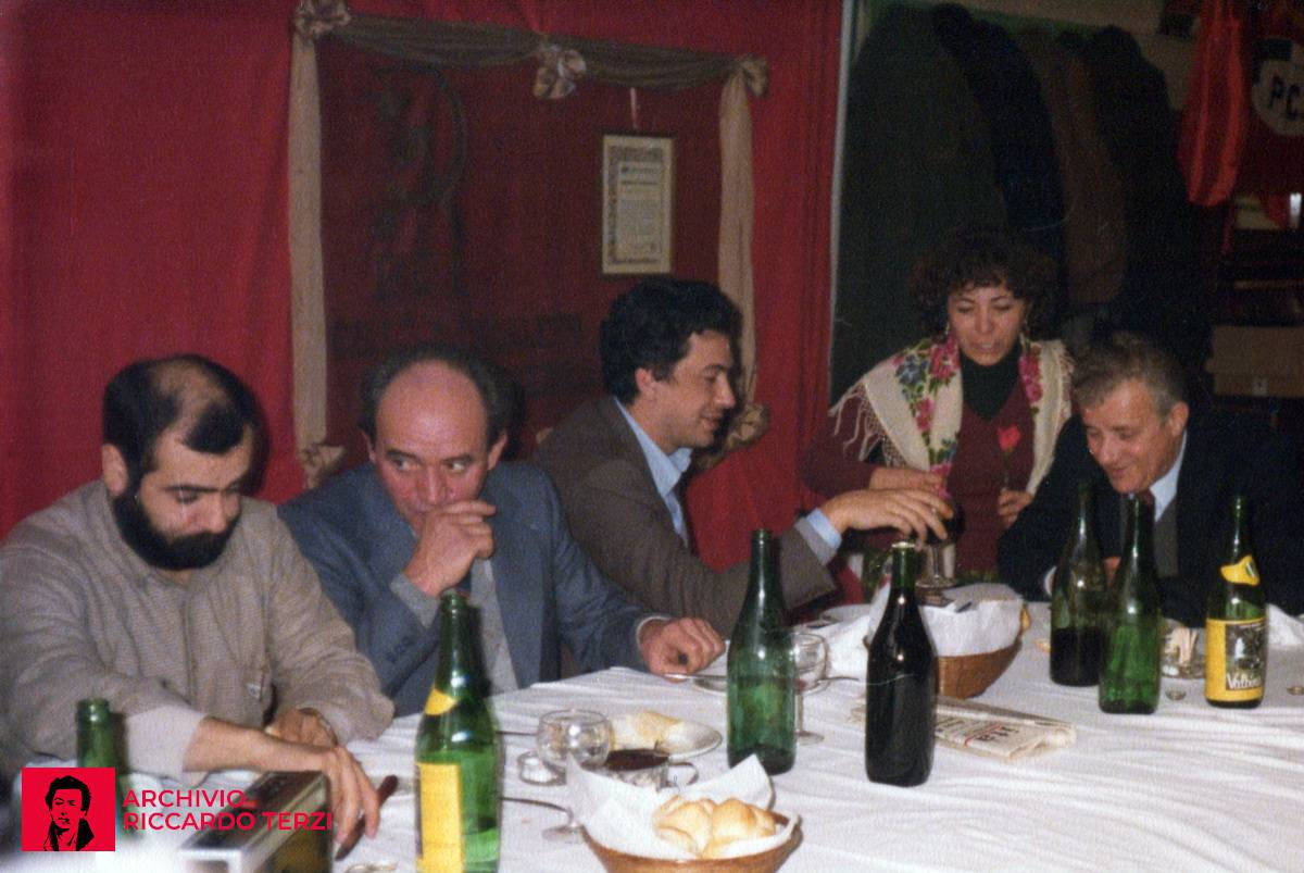 Festa del tesseramento al PCI (Palazzolo 6 gennaio 1980)