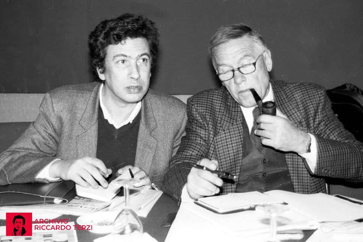 Terzi e Trentin Consiglio generale CGIL, dicembre 1988 (Credits: Archivio Storico della CGIL)