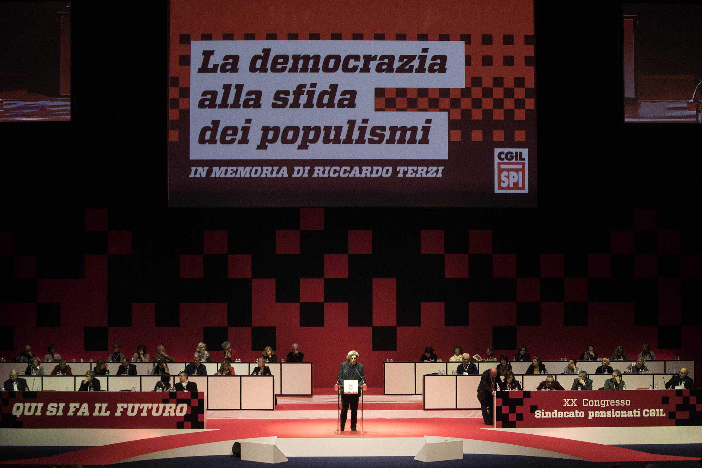 XX Congresso SPI CGIL